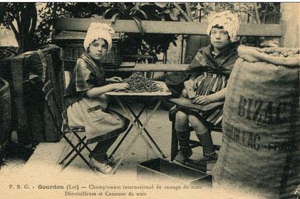 Dénoisilleuses ou Casseuses de noix, Gourdon
