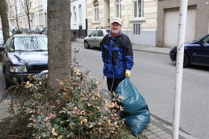 Reinigungsaktionen in unserem Viertel