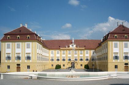 Kranz Kastenfenster, Schloss, Schloss Hof