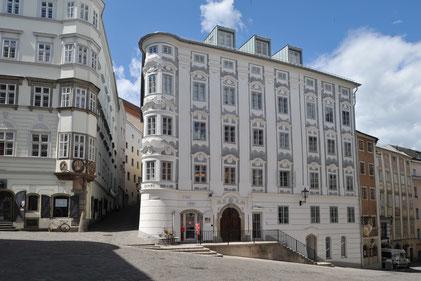 Kranz Kastenfenster, Stadthaus, Apothekerhaus Linz, Altstadthaus Linz