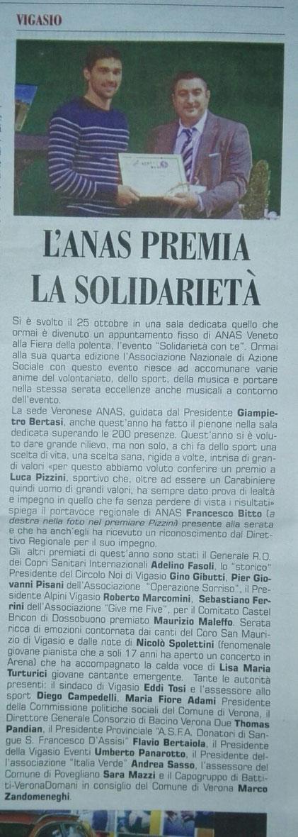 """Dal Mensile """"In Cassetta"""" numero di novembre 2017"""