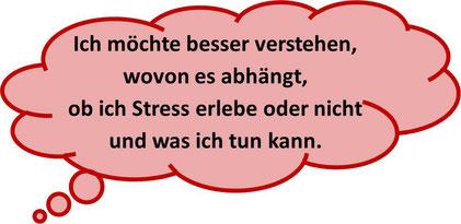 """""""Ich möchte besser verstehen, wovon es abhängt, ob ich Stress erlebe oder nicht und was ich tun kann."""" Unterstützung durch MediTrigon Freiburg"""