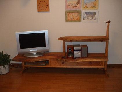 テレビ台 木製 手作り