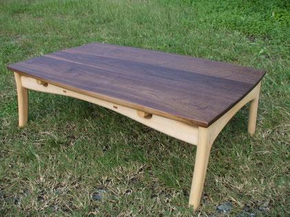 木製こたつ