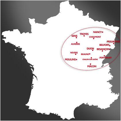 Réalisateur, cadreur, monteur à Dijon, Belfort, Nancy, Macon, Beaune, Besançon, Mulhouse, Moulins, Troyes, Pontarlier