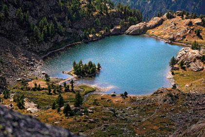 Lac de Trécolpas, Vallée de la Vésubie, Mercantour