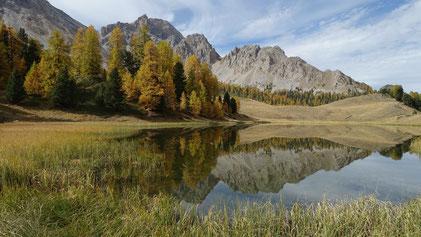 Le Lac Miroir, dans le Queyras