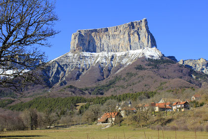Le Mont Aiguille, Vercors