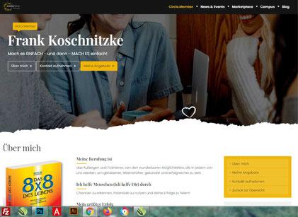 Koschi der Mutmacher - Mitglied der GoldenCircle.Community