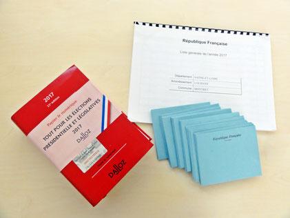 Montret - Code électoral, bulletins et liste électorale