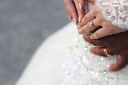 Montret - Mariés, robe