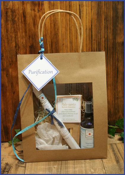 Sac cadeaux Purification bio