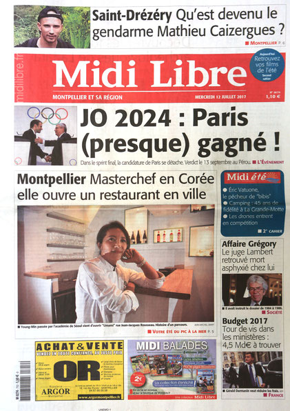 Midi libre juillet 2017
