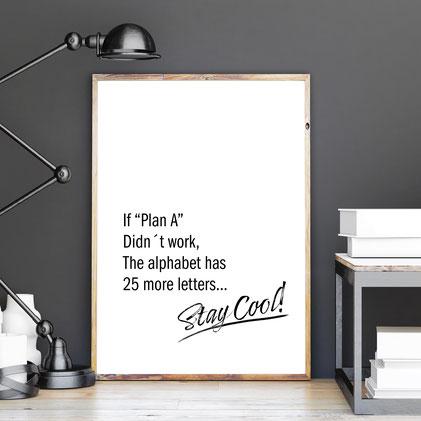 4one pictures - poster - motivation - inspiration - quotes - typographie - typo bilder - spruchbilder - sw