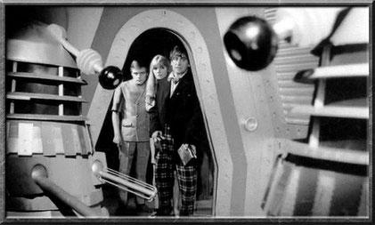 Auch der zweite Doctor hat mit den Daleks zu tun