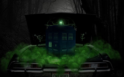 Supernatural TARDIS - 1920x1200