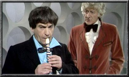 Der zweite und der dritte Doctor in der TARDIS