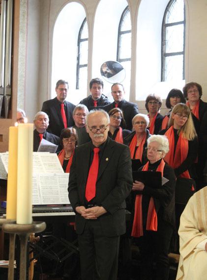 Kinderkommunion 2019 Chor Alt Bass Chorleiter