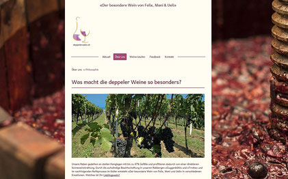 www.deppelerwein.ch - created by co-comm.ch