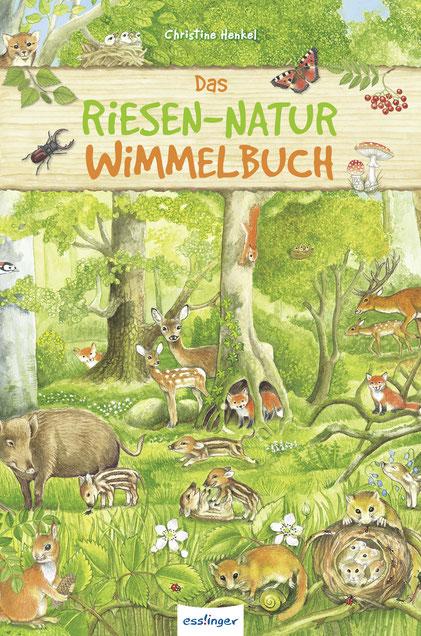Das Riesen-Natur-Wimmelbuch 02|2018 Esslinger
