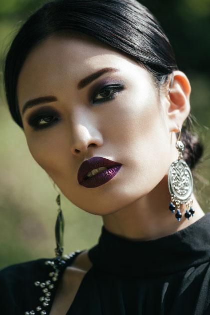 Fashion portrait by Monica Monimix Antonelli
