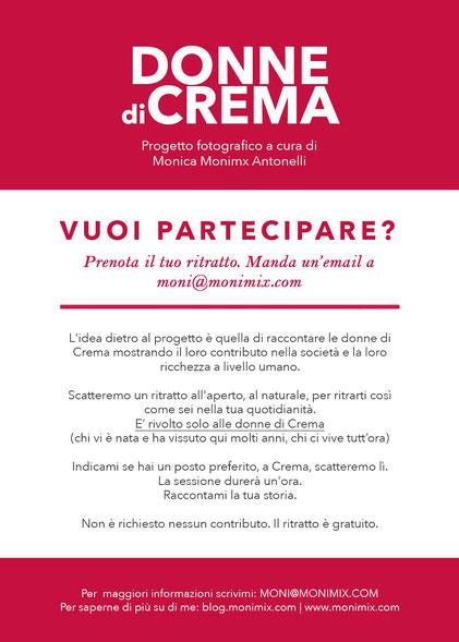 Progetto Donne di Crema (C)Monica Monimix Antonelli
