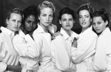 Sei modelle ritratte da Peter Lindbergh