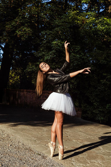 Ballerina nel parco