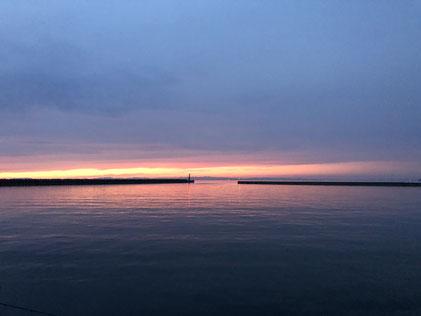 夕方の淡路島