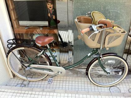 maruyoshiの子供乗せ自転車