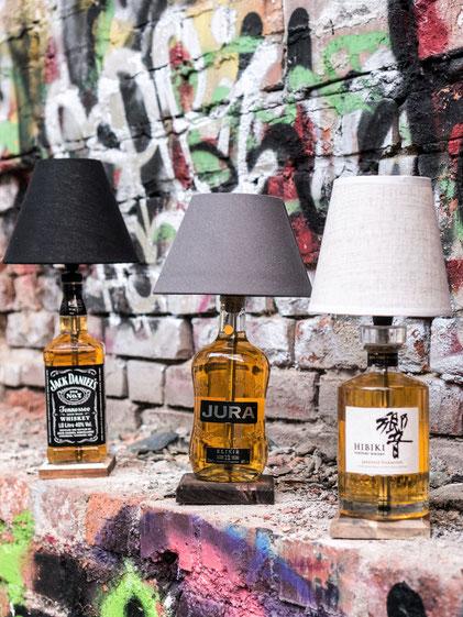 Flaschenlampe, Individuelle Geschenkidee