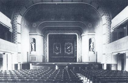 Kinosaal der Schauburg