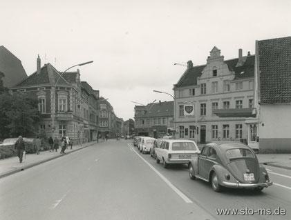 Grevener Straße - links zur Schulstraße 1970