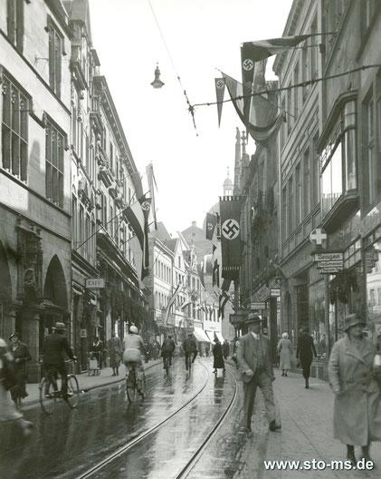 Salzstraße Richtung Dominikaner Kirche