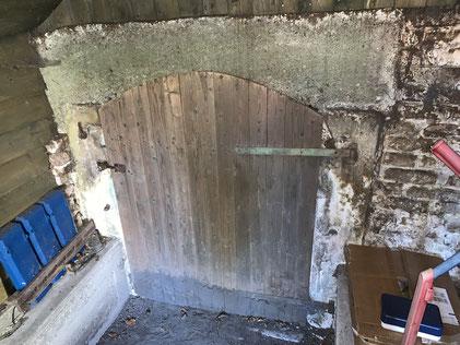 Die Tür zur Kasematte