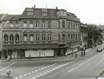 Steinfurter Straße Ecke Grevener  Straße 1970