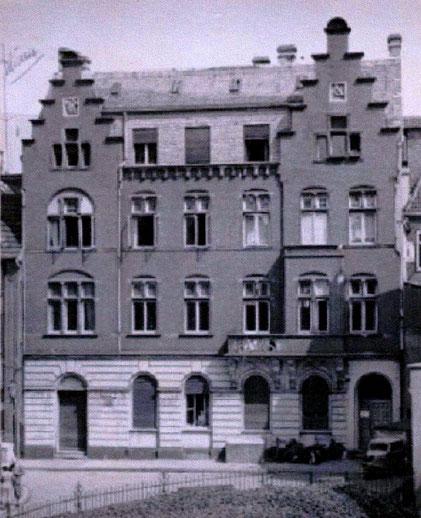 Neubau Syndikatgasse von 1894