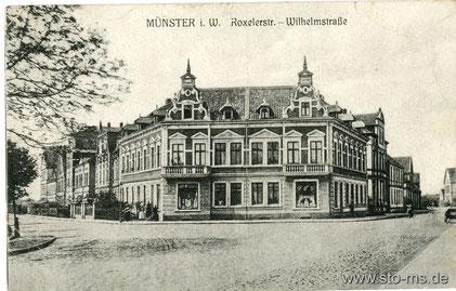 Ecke Roxeler Straße - Wilhelmstraße
