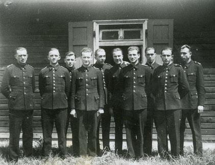 Polizeiausbildung um 1948