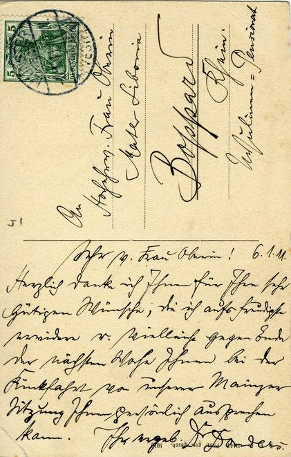 Eine beeindruckende Handschrift