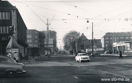 Hafenstraße Richtung Ludgeriplatz