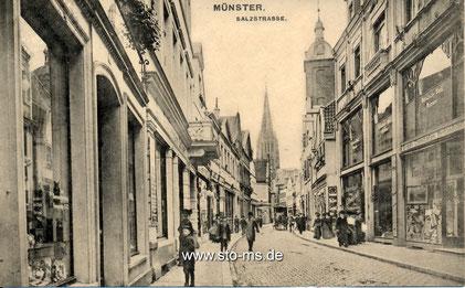 Um 1920 Richtung Lambertikirche