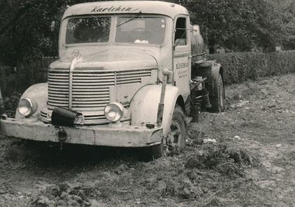 Fa. Levermann-Gussaphalt um 1960