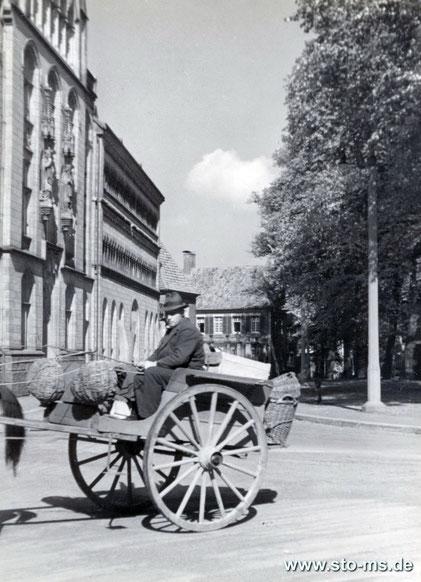 Von der Pferdegasse zum Domplatz