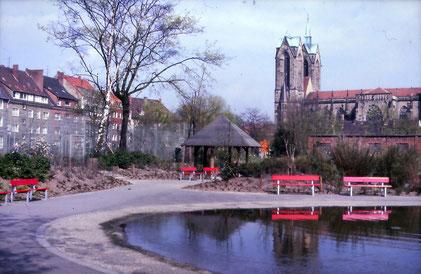 Südpark mit Josephskirche
