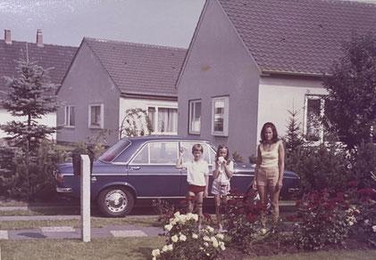 Das erste Auto vor der Tür