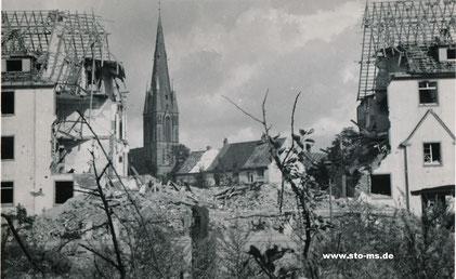 Schillerstraße Richtung Herz-Jesu-Kirche