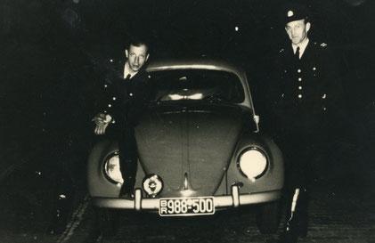 Streifenwagen um 1950