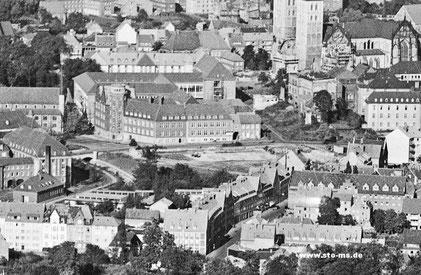 Das trümmerbefreite Grundstück 1950er Jahre - Foto Cekade