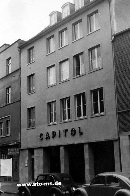 Neubau Capitol um 1950 - Foto Andrea Weil